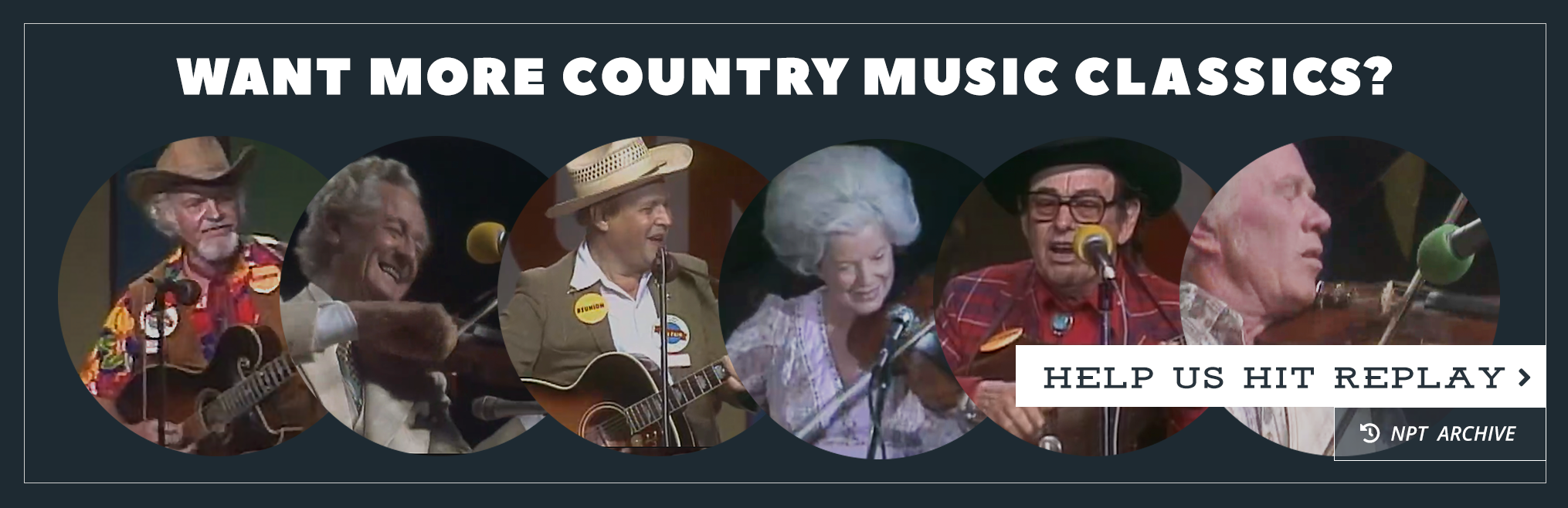 Want More Country Music Classics? Donate to NPT
