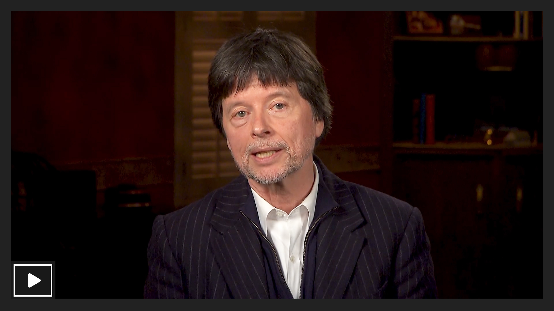 Ken Burns talks about his new project