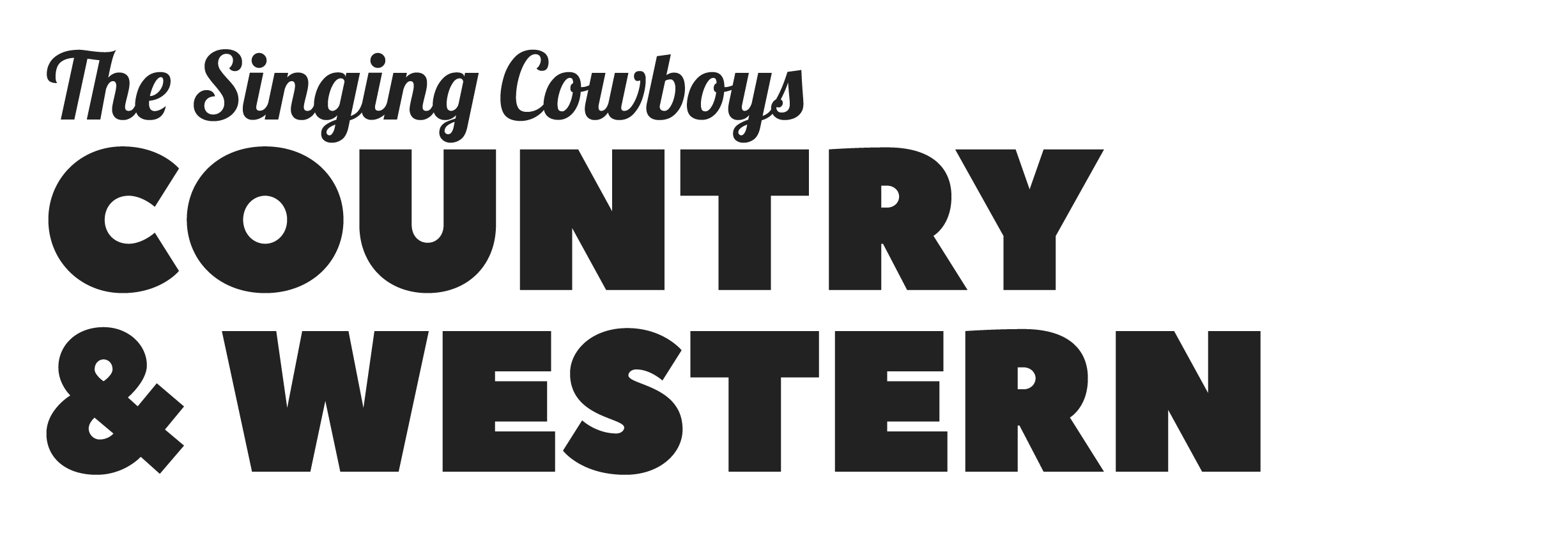 The Singing Cowboys Country & Western
