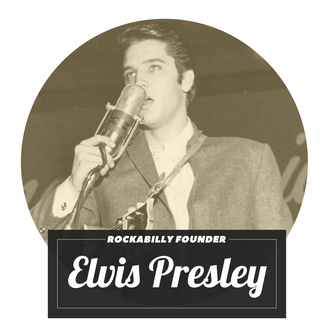 Rockabilly Archetype Elvis Presley