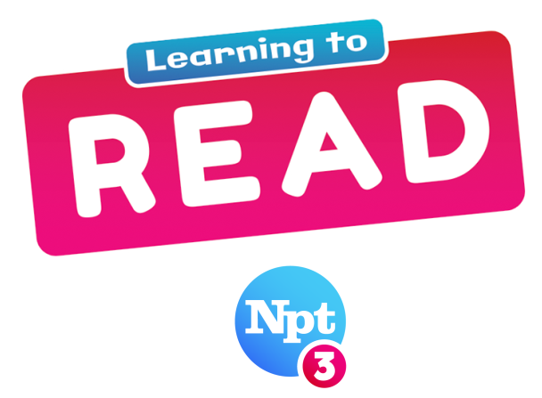 Learning to Read Logo | NPT3
