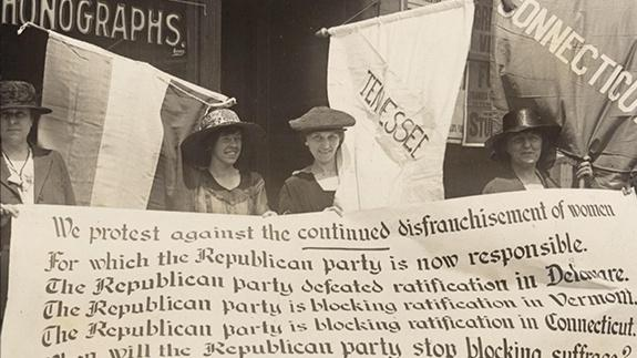 Teaching Suffrage - Advocates & Organizers