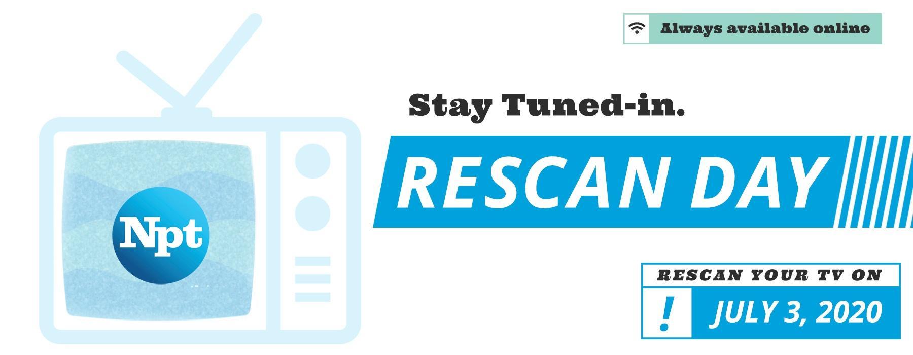 NPT's Rescan Day July 3, 2020