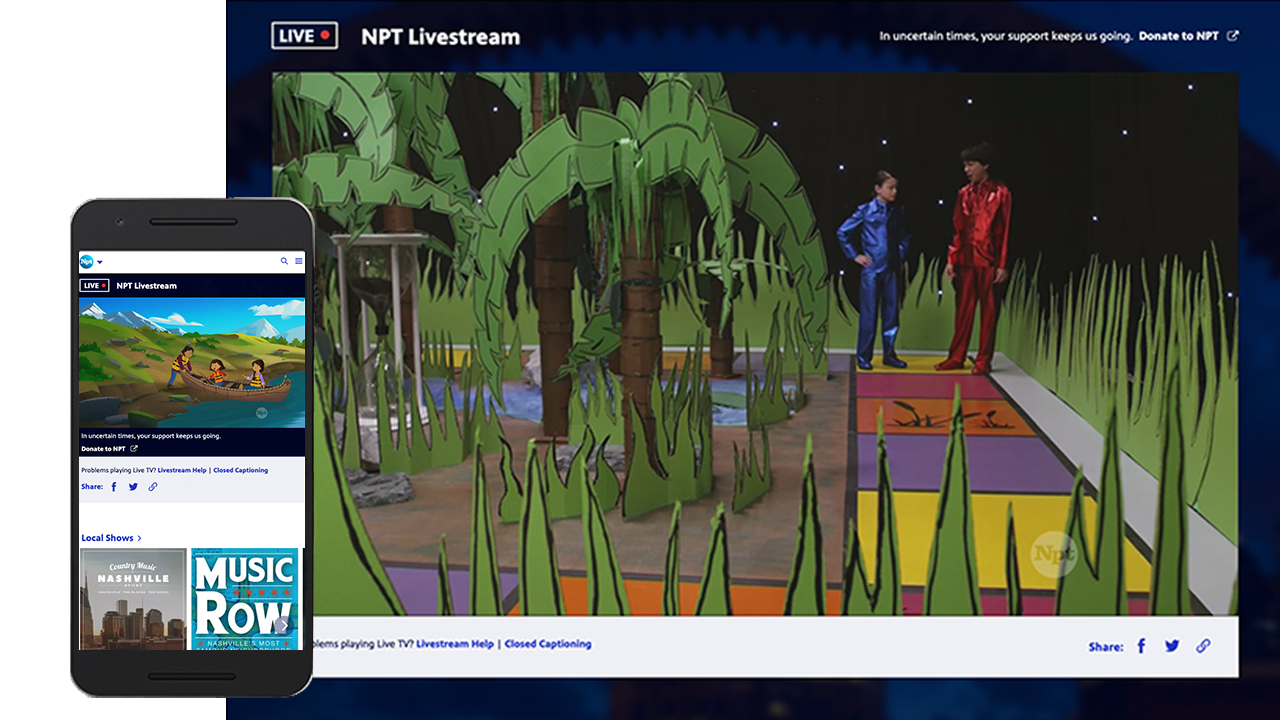 TV Live | NPT's Livestream