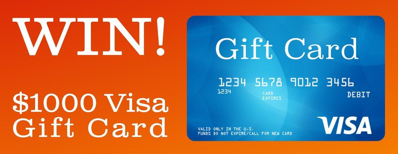 NPT's $1000 Visa Card Giveaway