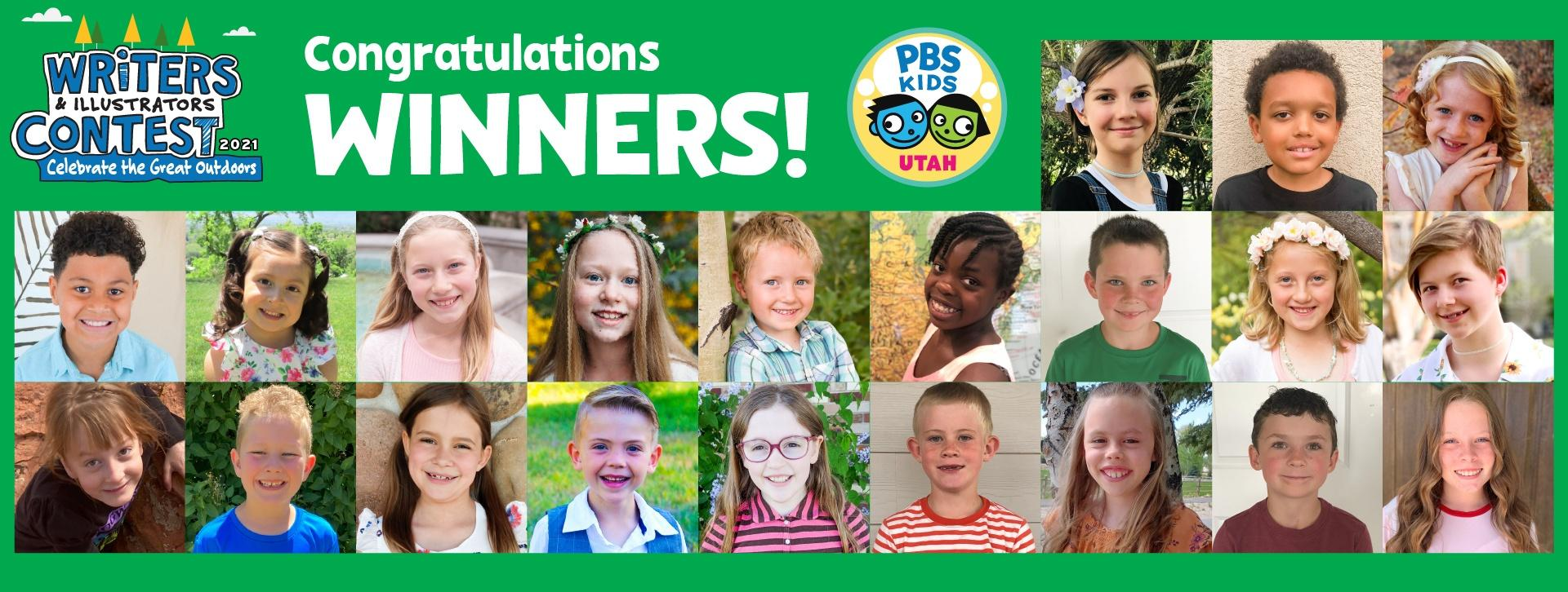Congratulations Winners! 2021 Writers and Illustrators Contest - Celebrate the Outdoors