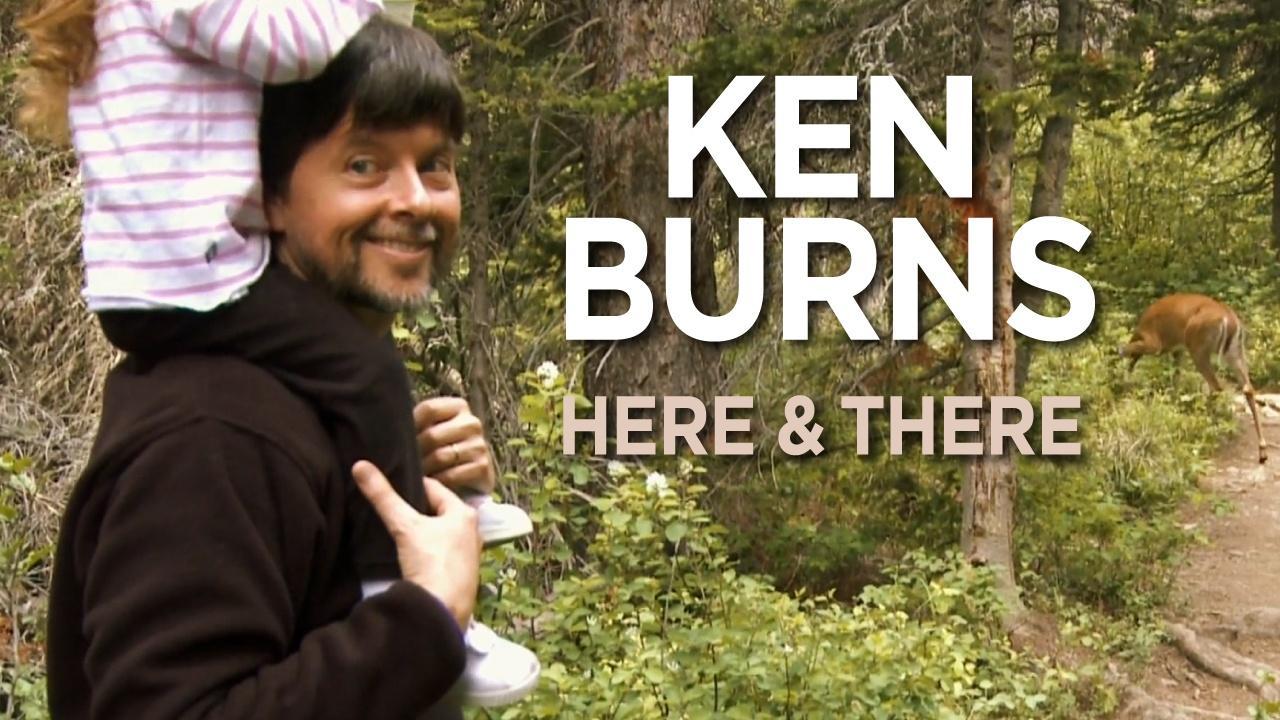 Dante Bellini and Ken Burns on the Brooklyn Bridge