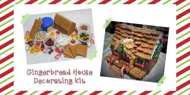 Gingerbread House Decorating Kit