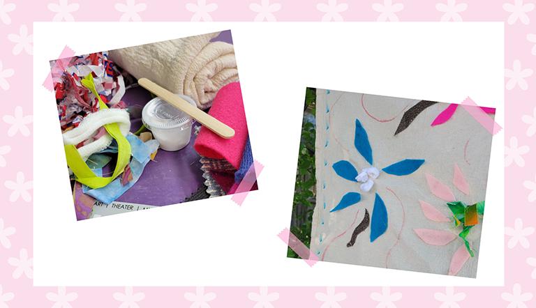 Floral tapestry kit