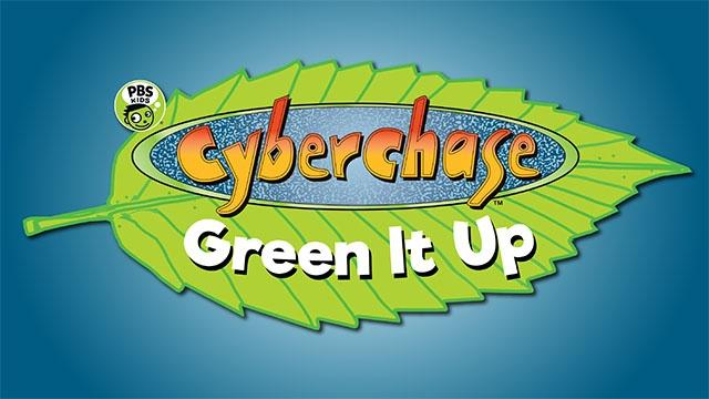 Cyberchase Green in Up