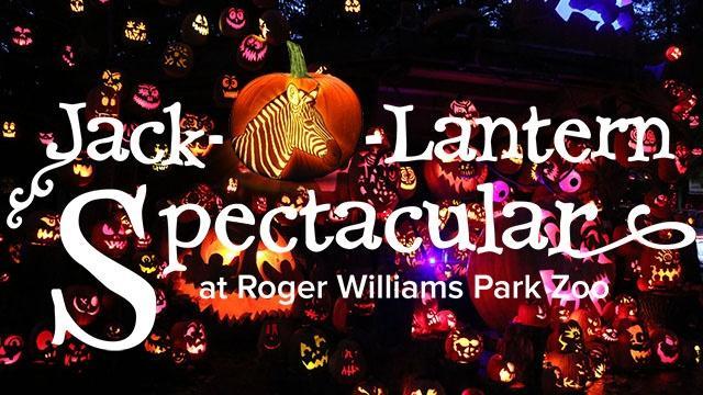 Jack-O-Lantern Spectacular at Roger Williams Park Zoo