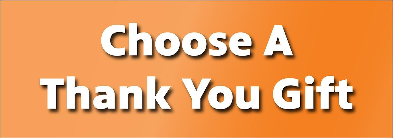Choose a Thank You Gift