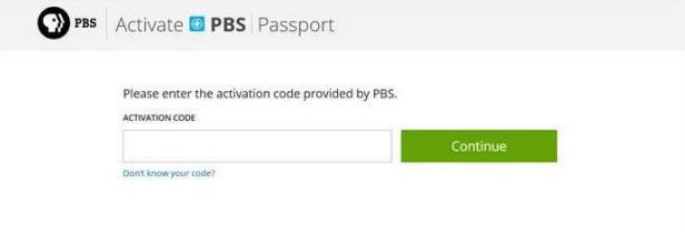 Rhode Island PBS Passport - Activate