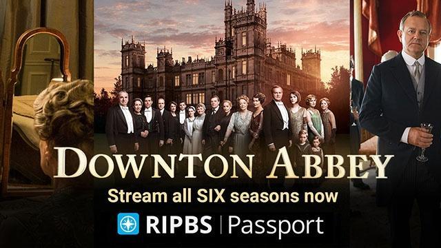 Downton Abbey on Rhode Island PBS