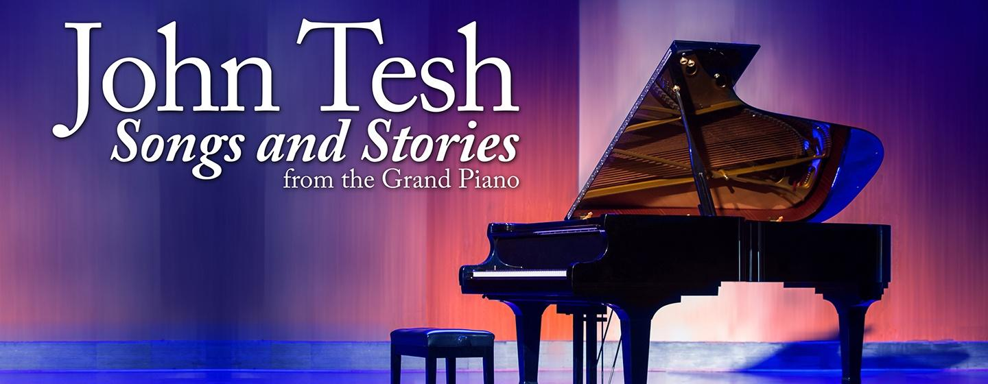 John  Tesh Songs and Stories from the Grand Piano