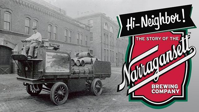 Hi Neighbor Logo/Shield - The Story of the Narragansett Brewing Company