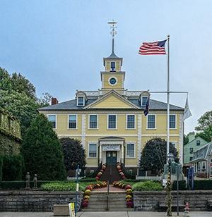 East Greenwich town hall, East Greenwich, RI