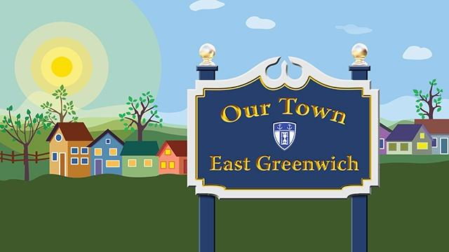 Our Town: East Greenwich sign post