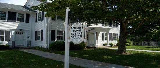 Scituate Town Clerks Office