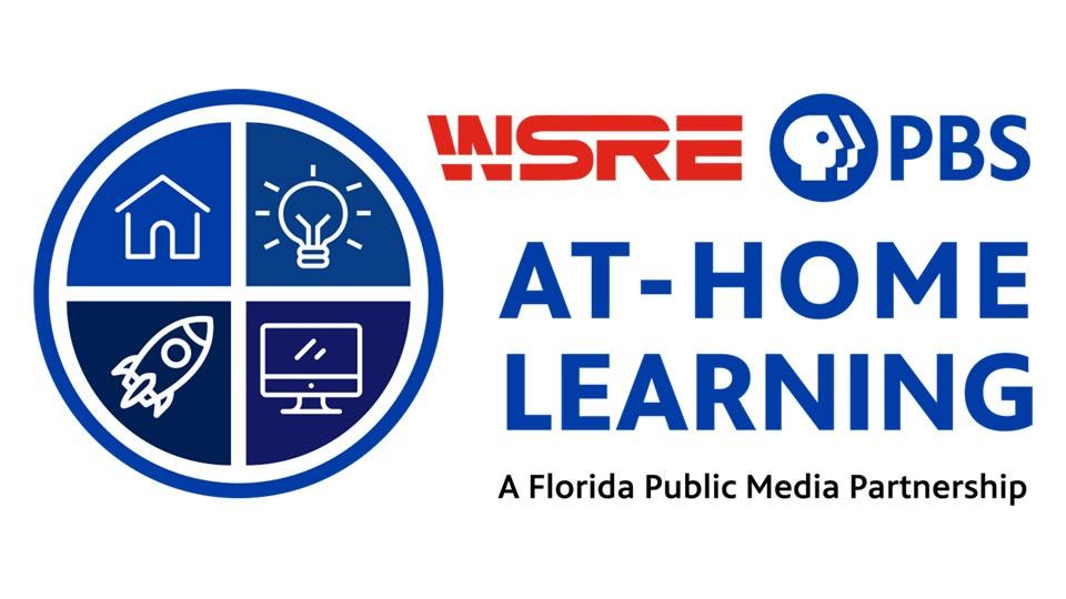 WSRE PBS At Home Learning - A Florida Public Media Partnership