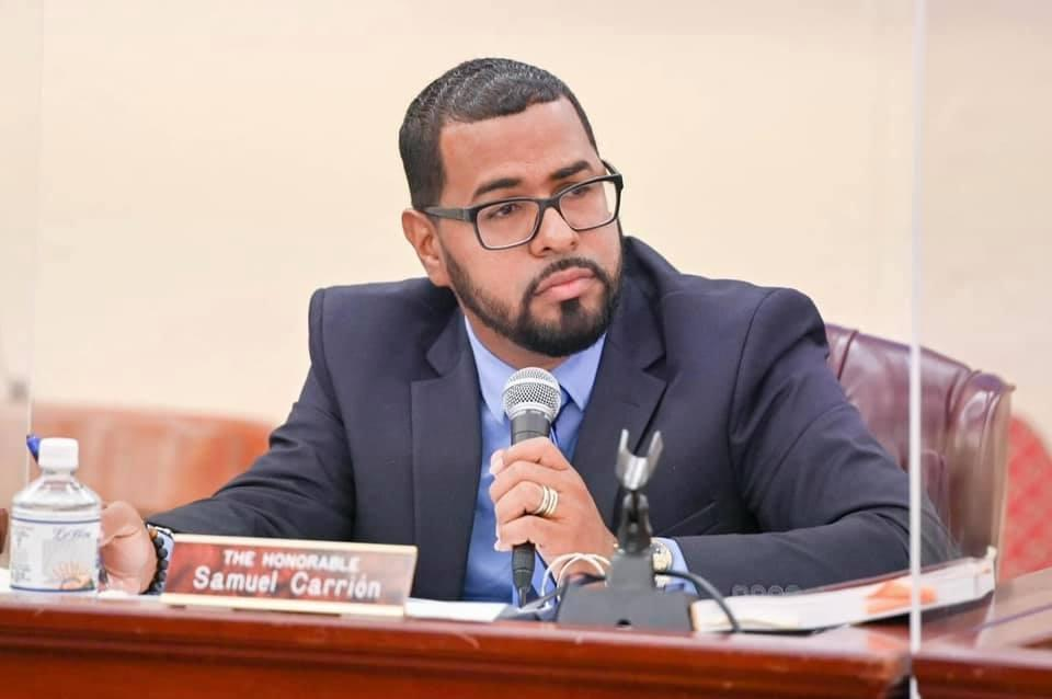 Sen. Carrion on Legislature Floor