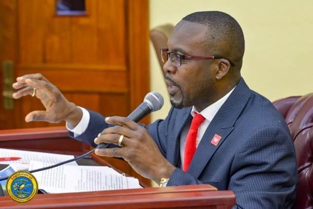 Senator Marvin Blyden