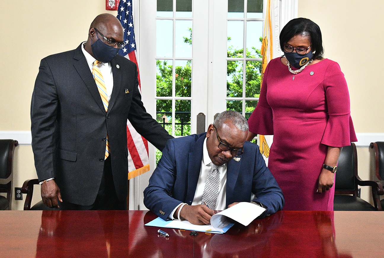 Governor Bryan Signs Bill