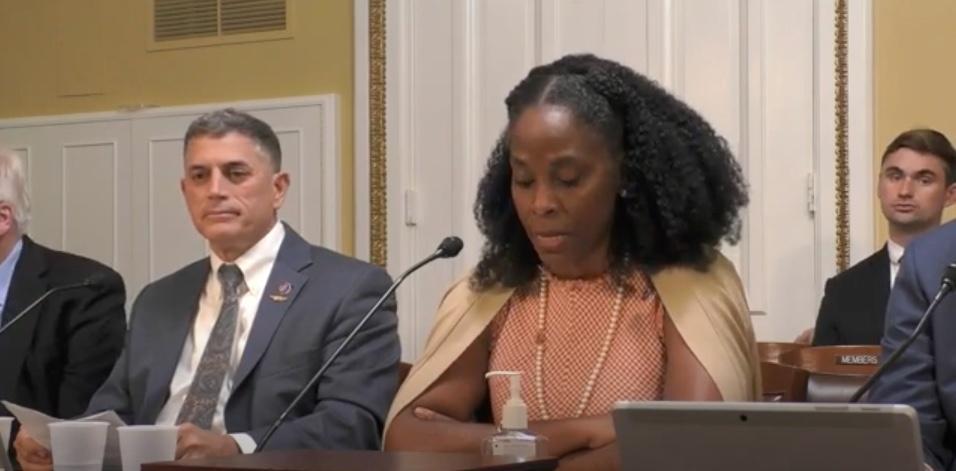 Congresswoman Plaskett Addressing the Rules Committee