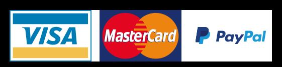 Visa/Mastercard/Paypal