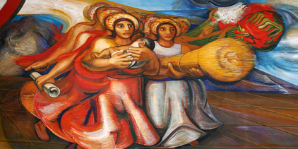 Enter the Faun - Man & Woman Dancing