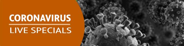 Headewr - Coronavirus Live Specials