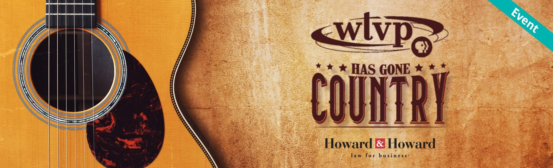 WTVP Has Gone Country Banner