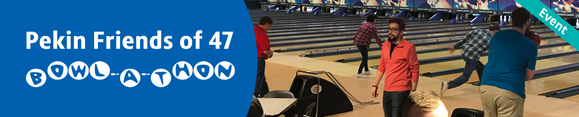 Pekin Friends of 47 Bowl-A-Thon Header
