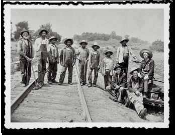 Chillicothe Santa-Fe Track Crew