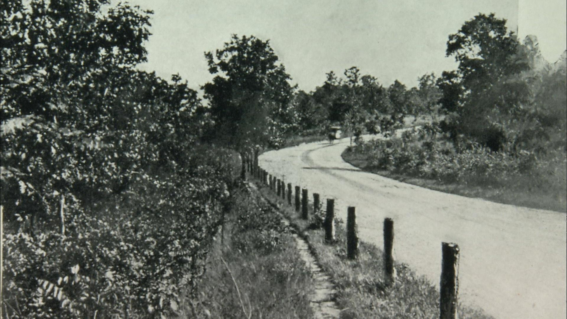 Construction of Grand View Drive