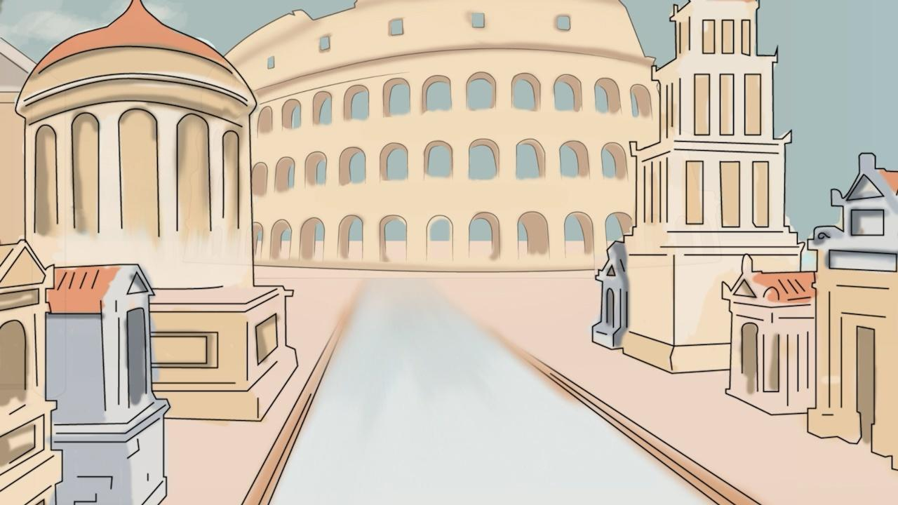 Rome and the Coliseum