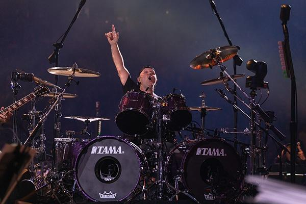 Lars Ulrich, drummer and co-founder of Metallica.