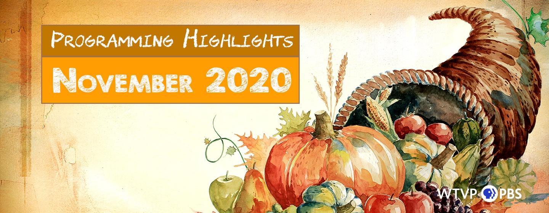 Programming Highlights - November 2020