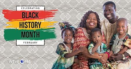 Black History Month | Family dressed in traditional clothes