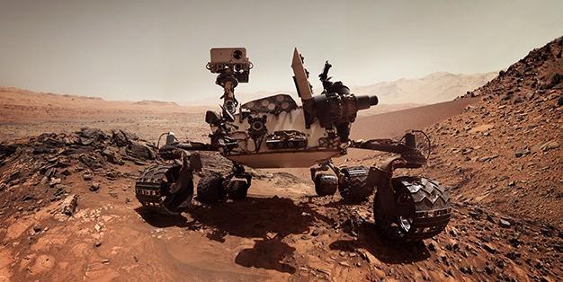 A Rover on Mars