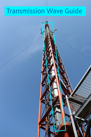 WTVP Broadcast Tower - Wave Guide