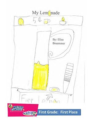 "First Grade: ""My Lemonade"""