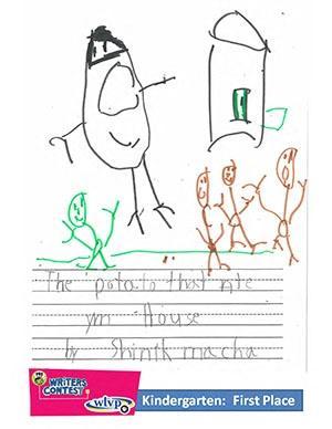 "Kindergarten: ""The Potato that Ate My House"""