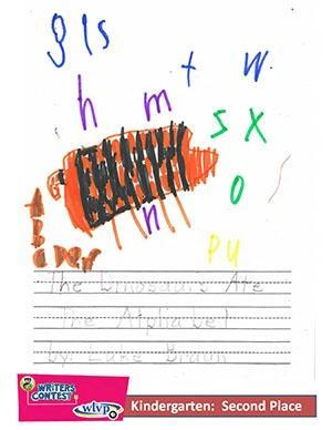 "Kindergarten: ""The Dinosaurs Ate the Alphabet"""