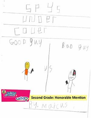 """Second Grade: """"'Spys' Under Cover"""""""