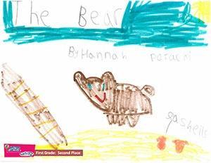 """First Grade: """"The Bear"""""""