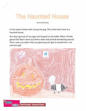 """Third Grade: """"The Haunted House"""""""