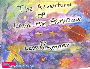 """First Grade: """"The Adventures of Lena the Astronaut"""""""