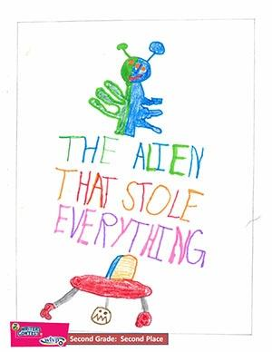 """Second Grade: """"The Alien That Stole Everything"""""""