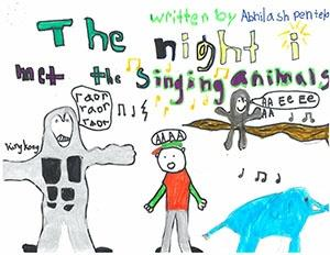"Second Grade: ""The Night I Met the Singing Animals"""